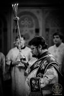Литургия в Софийском соборе 280