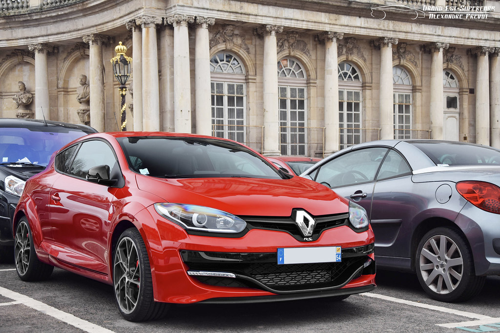Renault Mégane Iii Rs Couleur Rouge Flamme Wwwgrand Est