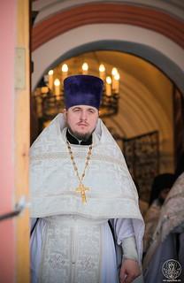 Литургия в Иверском монастыре 410