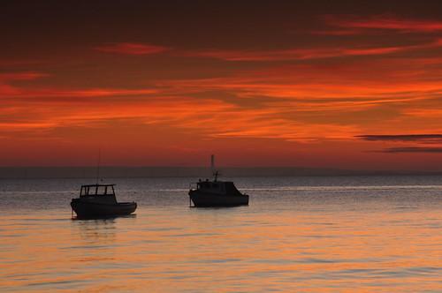 redsky boats essex thorpebay sea calmsea greatphotogrphers