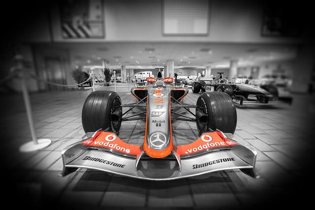 2007 McLaren Formel 1 - Car Museum in Monaco