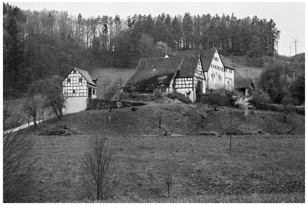 Einödhof Dörnhof | (Gräfenberg, Franken) (Ilford FP4 ...