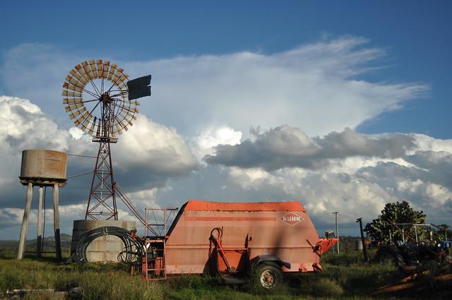 20 foot IBC Self Oiling windmill; Coalbank, Queensland, Australia
