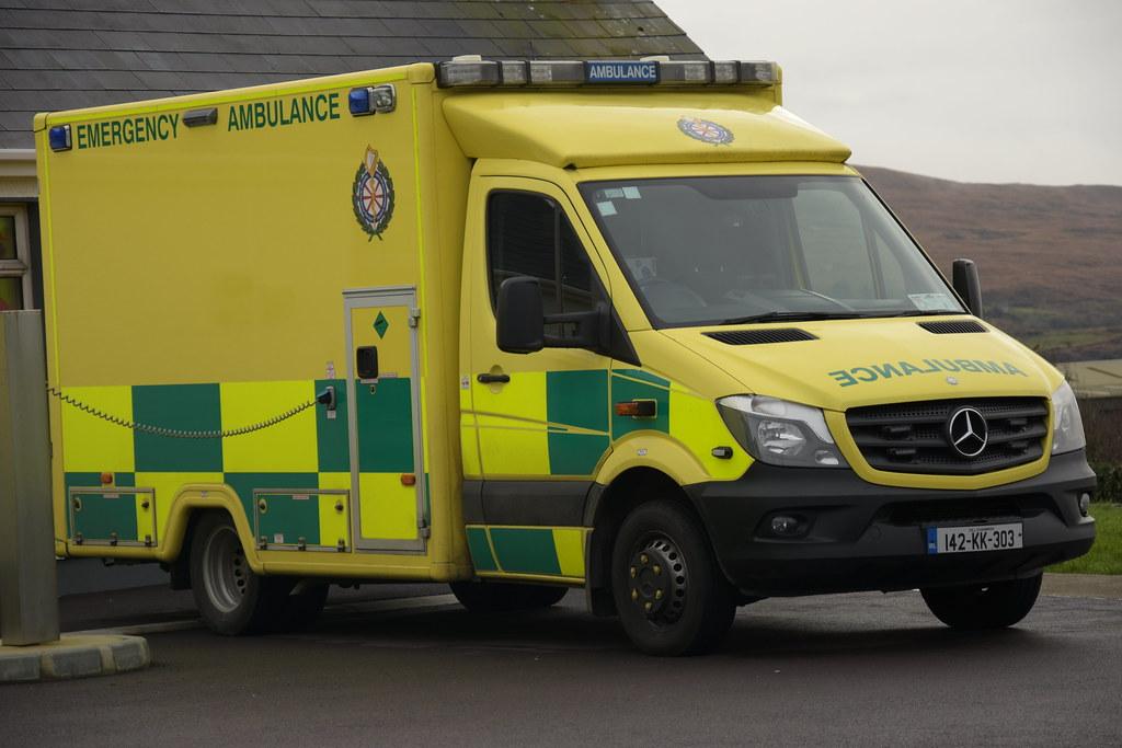 National Ambulance Service 2014 Mercedes Benz 519-36 Sprin