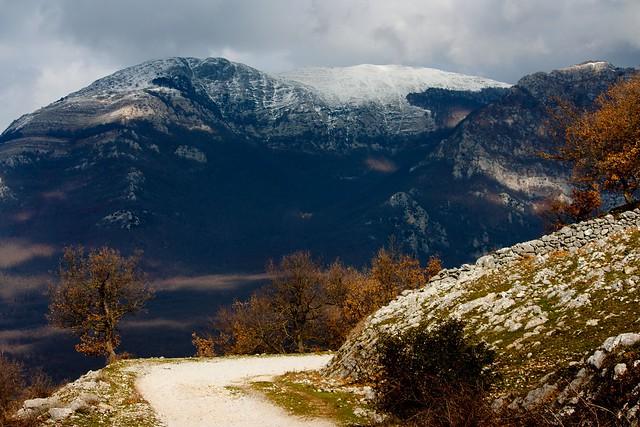 My mountains are these, Monti Ernici, Lazio