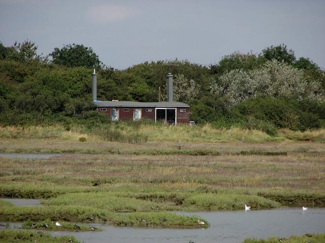 Skipper's Island from the sea wall near Kirby-le-Soken