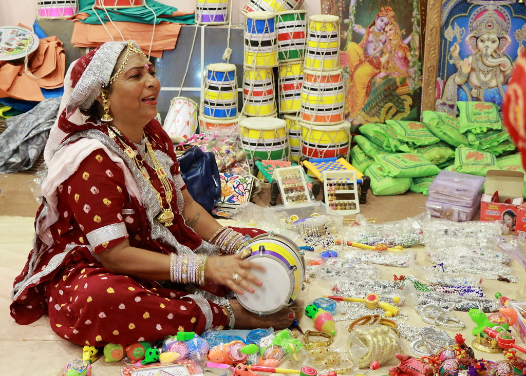 Indian Merchant at Global Village in Dubai, UAE | Video of G