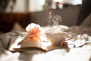 writing-tea-flower-diary-journal-notepad - Must Link to https://coffee-channel.com | by Coffee-Channel.com