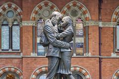 Londre - The Meeting Place de la Gare de Saint Pancras