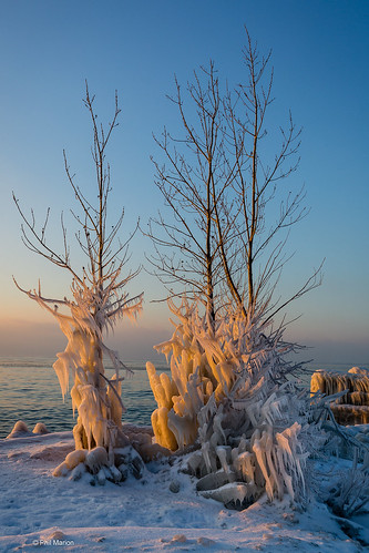 Winter's accumulation of ice - Lake Ontario | by Phil Marion (173 million views - THANKS)