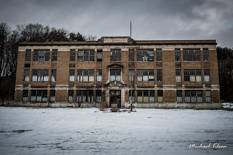 Abandoned School in Newport