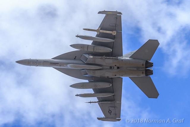 Boeing EA-18G Growler of VAQ-132