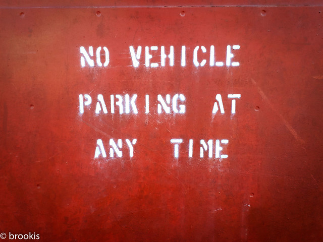 No Vehicle Parking