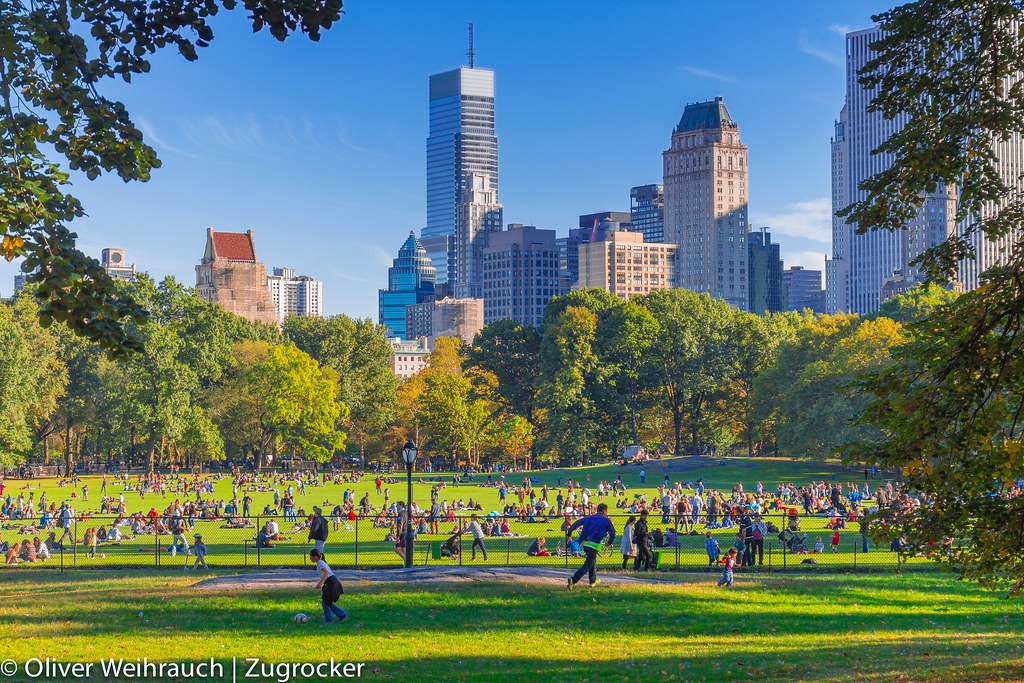 The Great Lawn, Central Park, New York