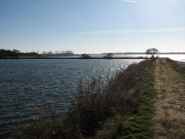 Loompit Lake near Trimley St Martin