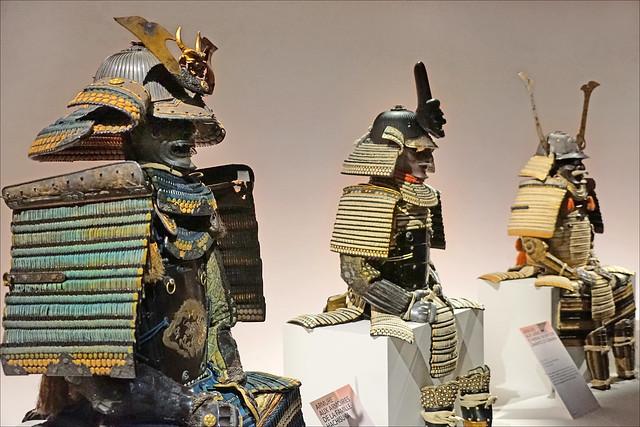 Armures de Daimyo (Musée Guimet / MNAAG, Paris)