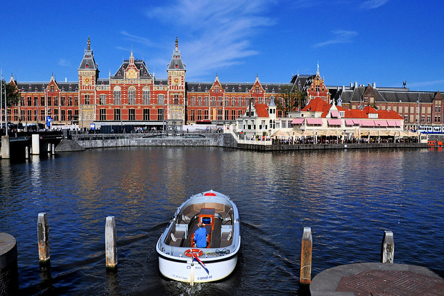 Amsterdam Centraal Station, Netherlands