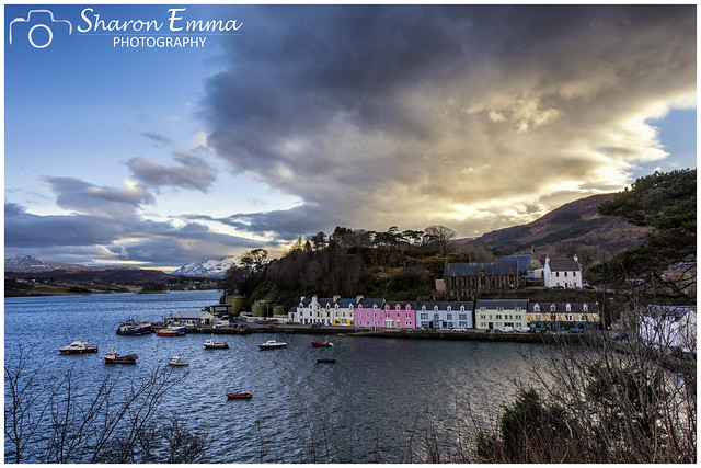 Dramatic Sky over Portree