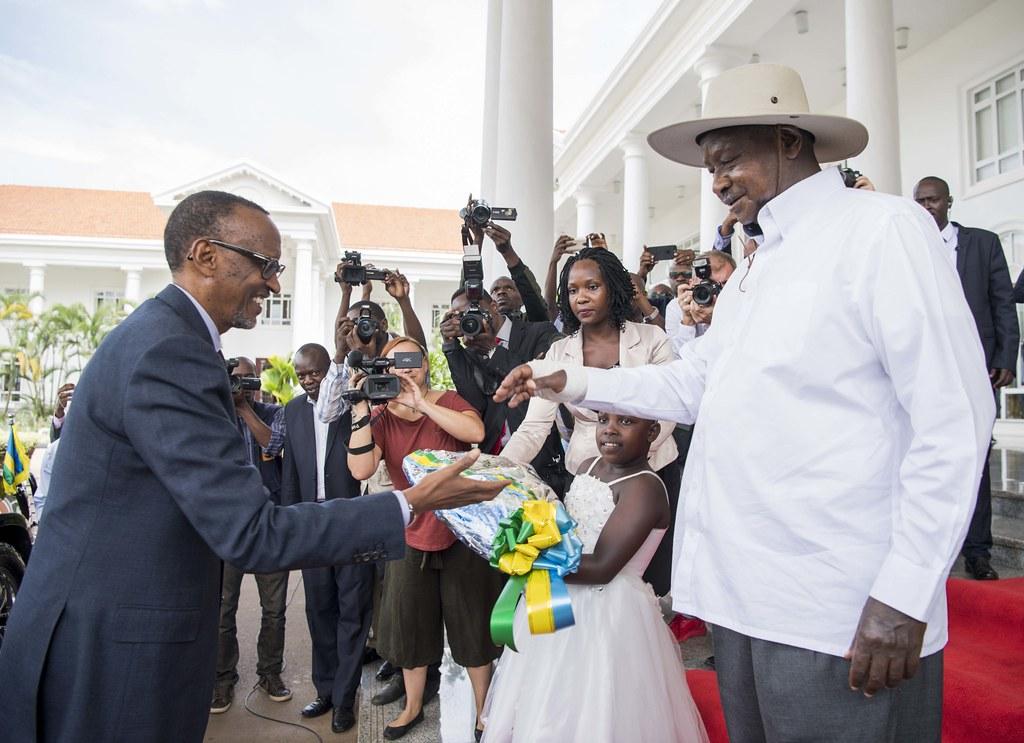 President Museveni welcomes President Kagame to Uganda | Kampala, 25 March 2018