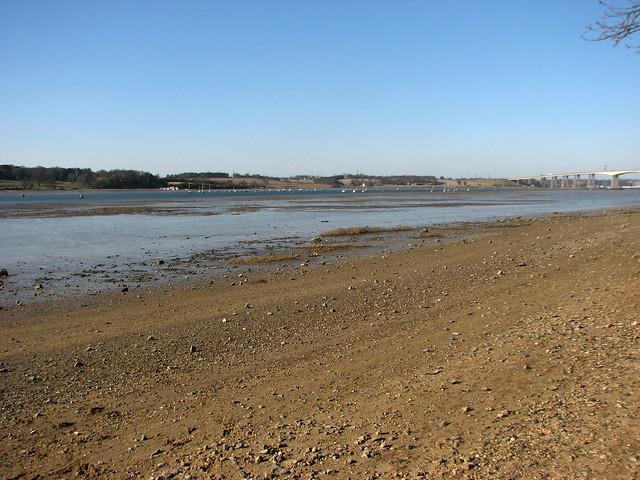 The River Orwell near Ipswich