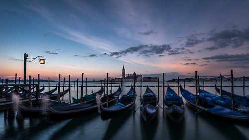 venice venedig venezia italy italien sunrise sonnenaufgang clouds gondel gondola sangiorgiomaggiore sanmarco markusplatz stmark´ssquare