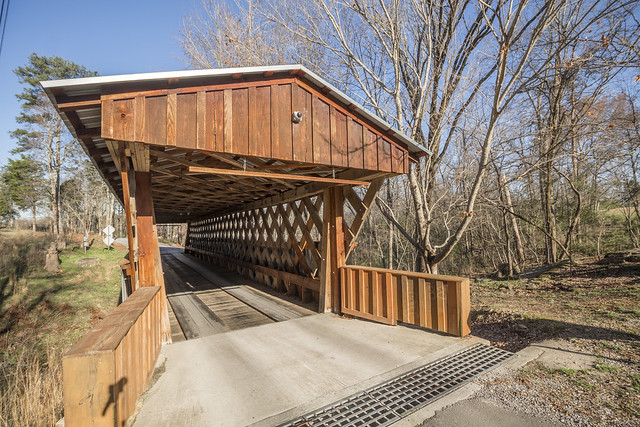 Easley covered bridge, Blount County, Alabama
