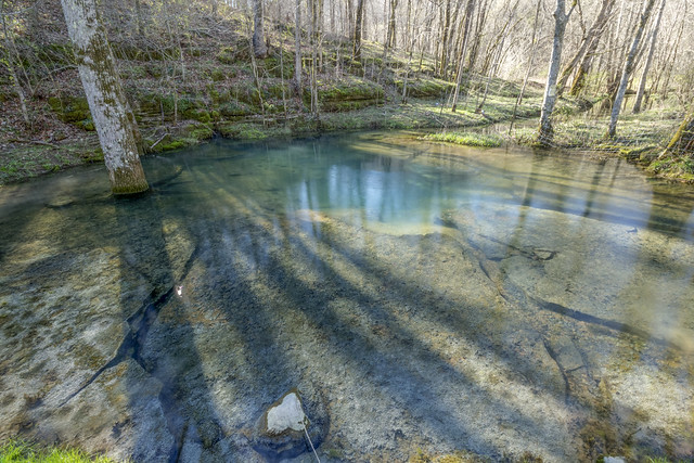 McBroom Branch Blue Hole, Putnam County, Tennessee 3