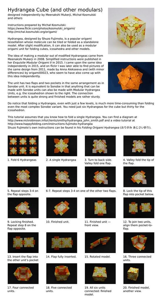 DIY: origami cube | Origami cube, Diy origami, Origami paper art | 1024x552