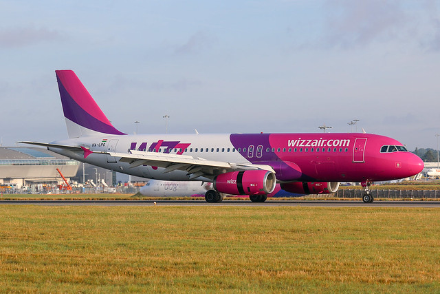 Wizz Air Airbus A320-200 HA-LPO