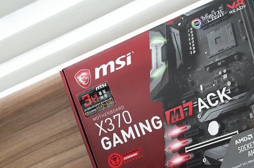 MSI X370 GAMING M7 ACK Mainboard | by TheBetterDay