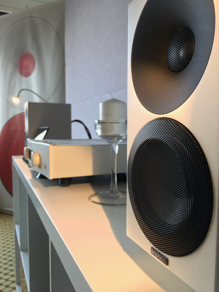 Hegel Rost and Amphion Argon 0 at Bristol Sound & Vision 2