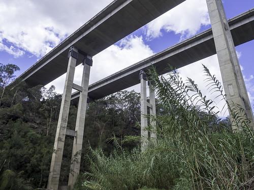 bridges douglasparknsw humemotorwaybridges nepeanriver landscape olympus paulleader architecture bridge transport transportation humehighway nsw newsouthwales australia