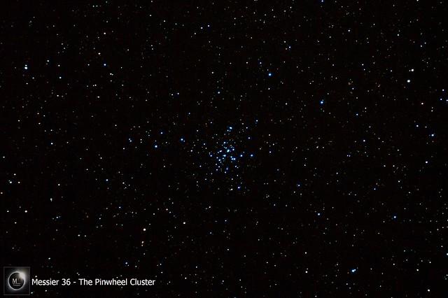 M36 - The Pinwheel Cluster 13/03/18