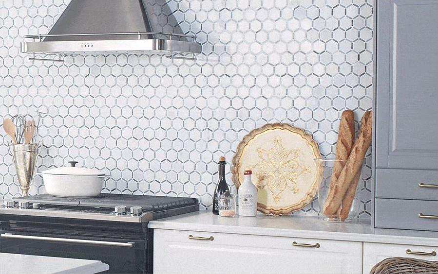 Decorative Tile Backsplash | Www.jillianharris.com/my Ikea S ...