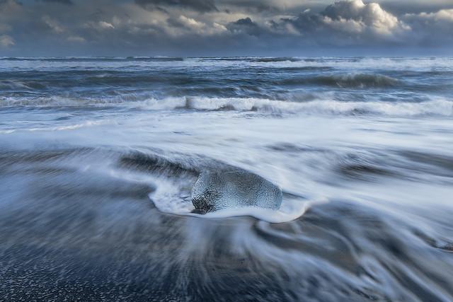 Ice Beach, Iceland