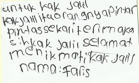 Pesan Faris