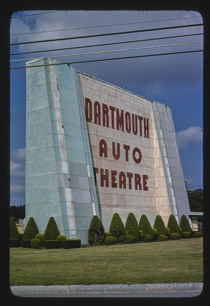 Dartmouth Auto Theatre, horizontal view, Route 6, Dartmouth, Massachusetts (LOC)