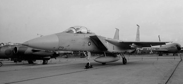 McDonnell Douglas F-15B   77-0158/CR    32nd TFS