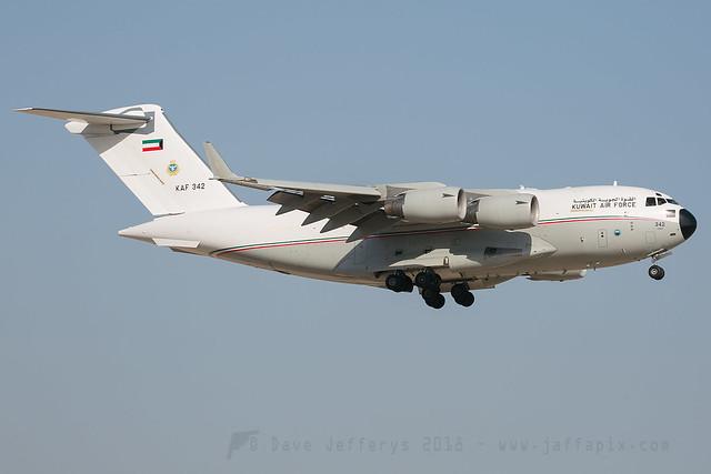 KAF342 C-17 Kuwait AF