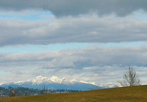 landscape landschaft britishcolumbia canada vancouver crescentbeach mountains