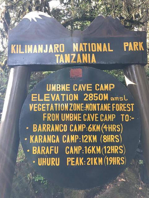 Umbwe Camp