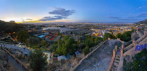 murcia fuensanta sunset atardecer panorama panoramas landscape