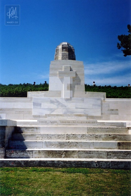 The memorial at Chunuk Bair