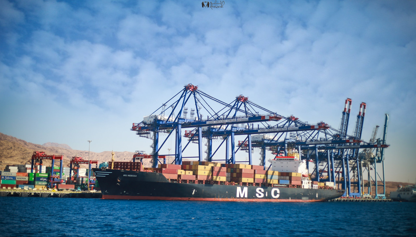 Aqaba Container Terminal, Jordan | Flickr