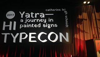 TypeCon 2017: Catherine Leigh Schmidt on Yatra: A Journey in Painted Signs | by composerjk