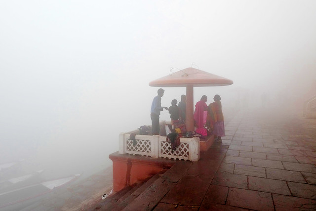 Varanasi in the Morning Mist