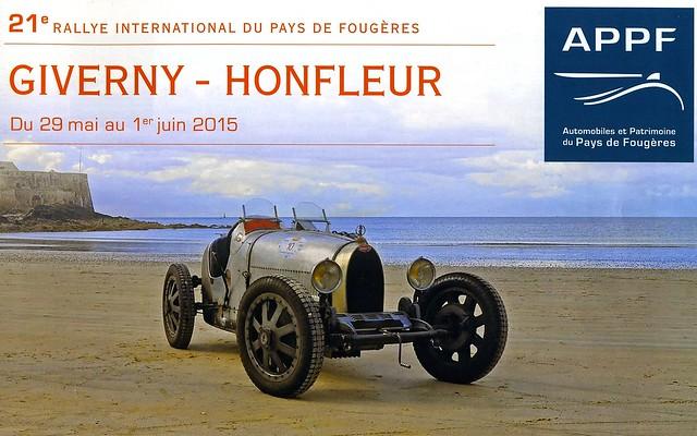 Affiche du Rallye de Fougères APPF