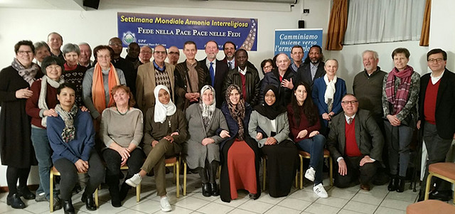 Italy-2018-02-10-World Interfaith Harmony Week Observed in Bergamo, Italy