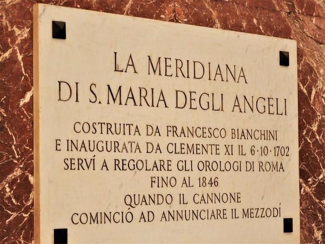 2018 MARZO CORSO DI ASTRONOMIA - VISITA MERIDIANA S. MARIA DEGLI ANGELI