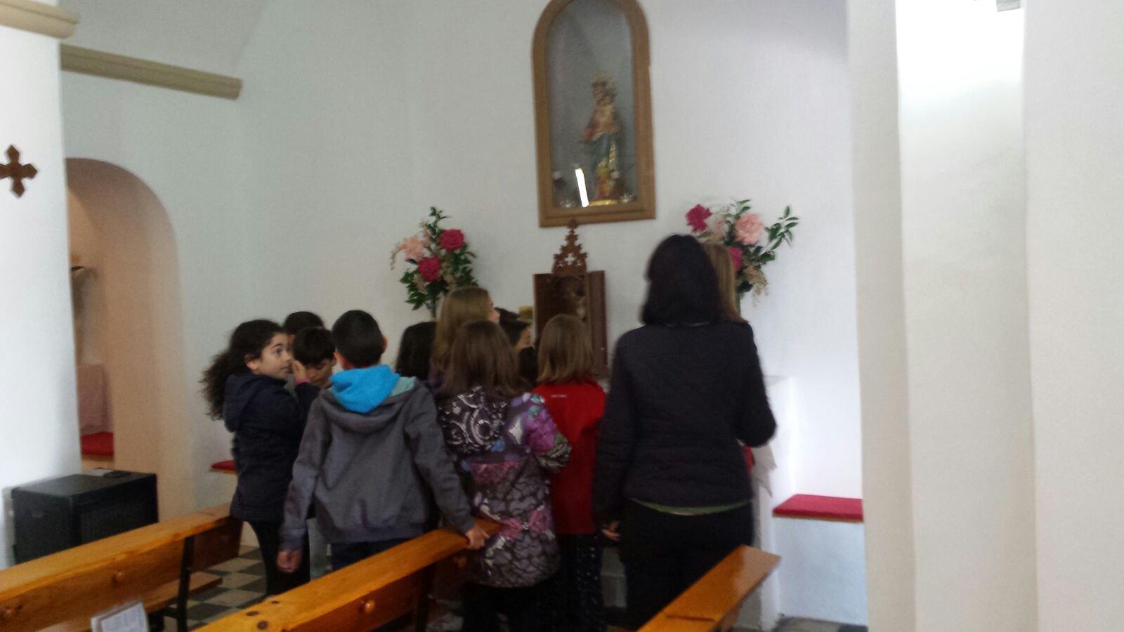 (2018-03-16) - Visita ermita alumnos Laura,3ºB, profesora religión Reina Sofia - Marzo -  María Isabel Berenguer Brotons (09)